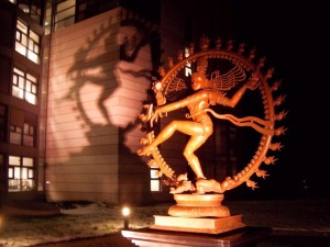 The Hindu god Shiva as Lord of Dance, representing the fundamental energy of the universe